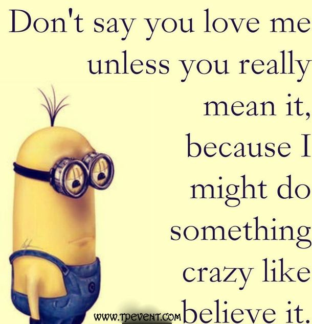 Quotes About Love For Him: Best 25+ Minions Love Ideas On Pinterest
