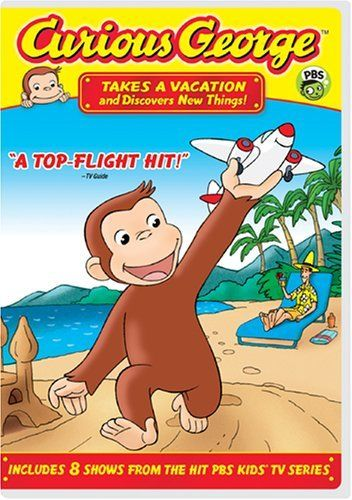 Curious George - Takes a Vacation & Discovers New Things DVD ~ Frank Welker, http://www.amazon.com/dp/B00157OICI/ref=cm_sw_r_pi_dp_983aqb07Y6NQ9
