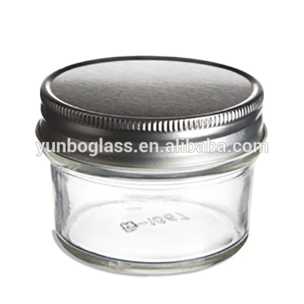 Small Mason Jars Wholesale 4 oz Mason Jars, Cheap Mini Jam Jars, Gift Glass Jars for Sale High Quality