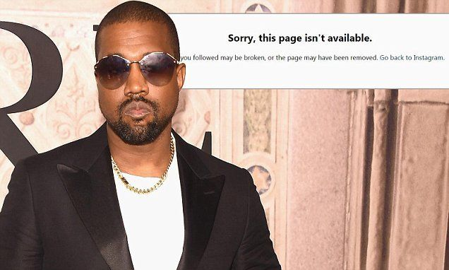 Kanye West Banned From Twitter And Instagram Instagram Kanyewest Twitter Kanye West Instagram Mens Sunglasses