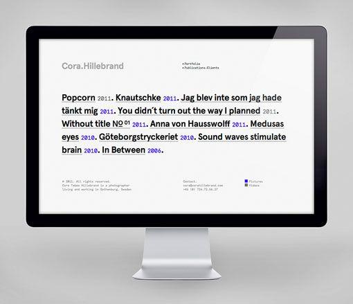 Lundgren + Lindqvist: Cora Hillebrand Identity