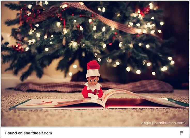 #Lutins de Noël: 25 idées de tours trouvées sur #Pinterest #noel #cdpfetes