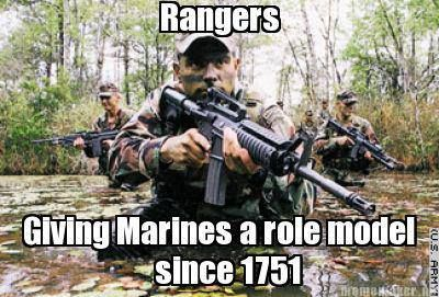"""U.S. Army Rangers """"Rangers lead thev way"""" Facebook Cover 