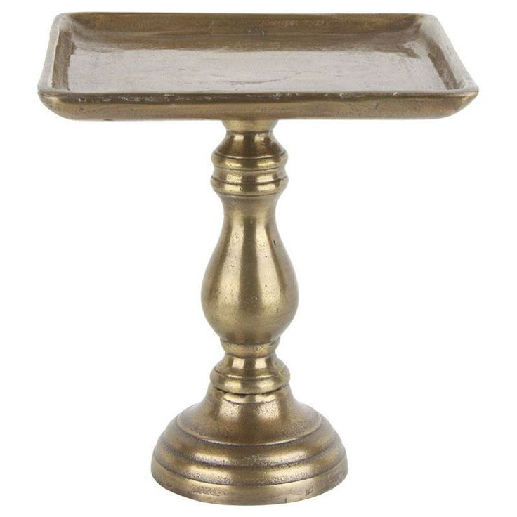 Aluminium brass antique cake stand