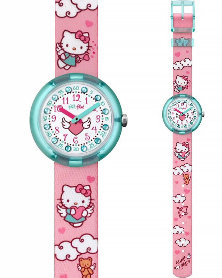 Ρολόι Flik Flak HELLO KITTY Cupido ZFLNP020