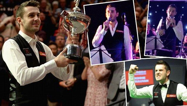 Mark Selby denies Ronnie O'Sullivan to win his first World Snooker Championship title | Mail Online