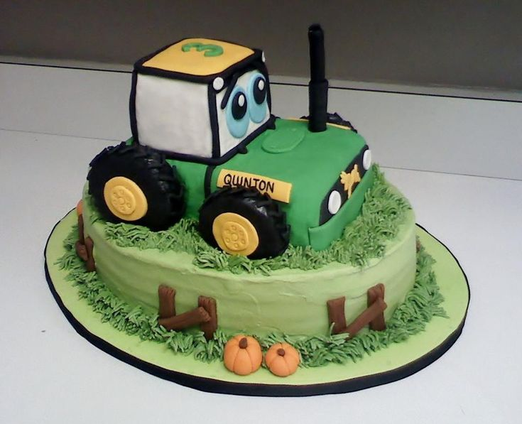 Cake Decorating: Tractor Cake