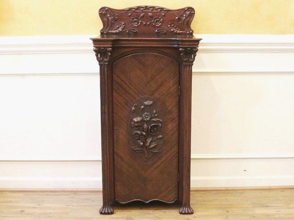hallways office furniture. antique tall narrow carved walnut sheet music cabinet dating back to the late this stunning piece of furniture features absolutely amazing hand hallways office