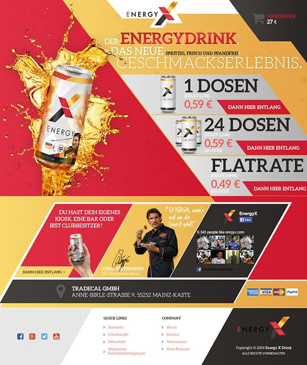 ENERGYX energy drink