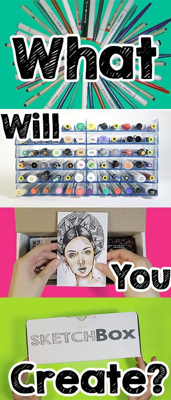 >>Every month we deliver a new box of unique art supplies for you to experiment with.  >>Plans start at $25.