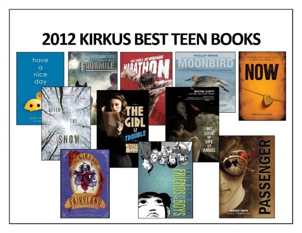 Recommended Books For Teenagers 2012