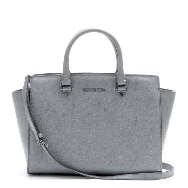 Michael by Michael Kors Selma Leather Tote found on Polyvore