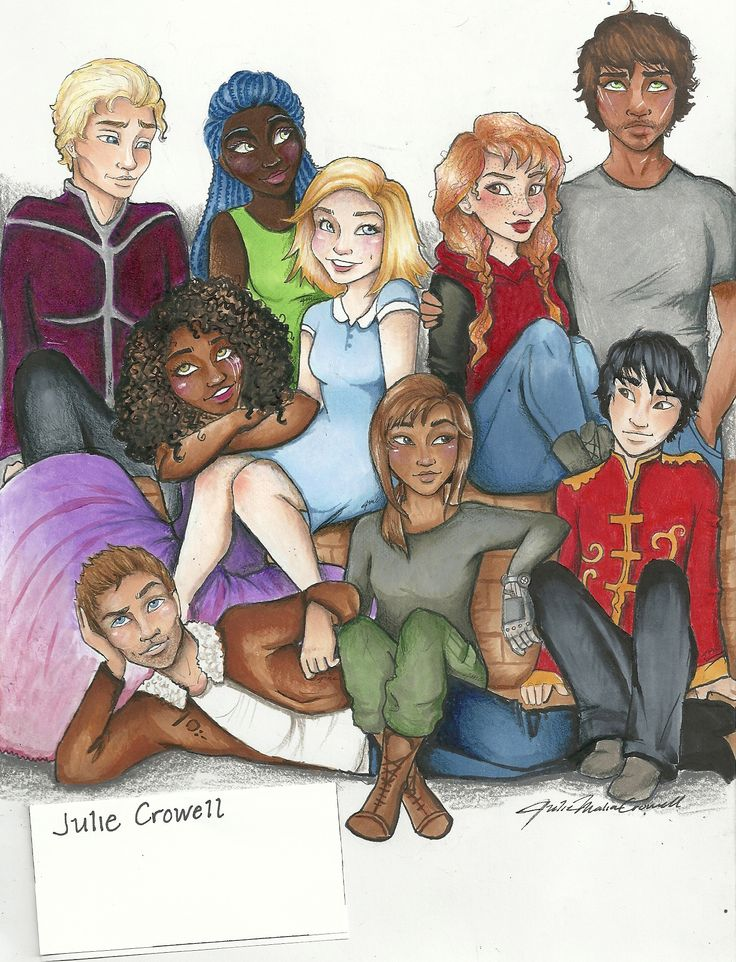 The Lunar Chronicles...Repin this my fellow Lunartics and give me credit!!! I want Marissa Meyer to find this!!! Art by Julie Crowell