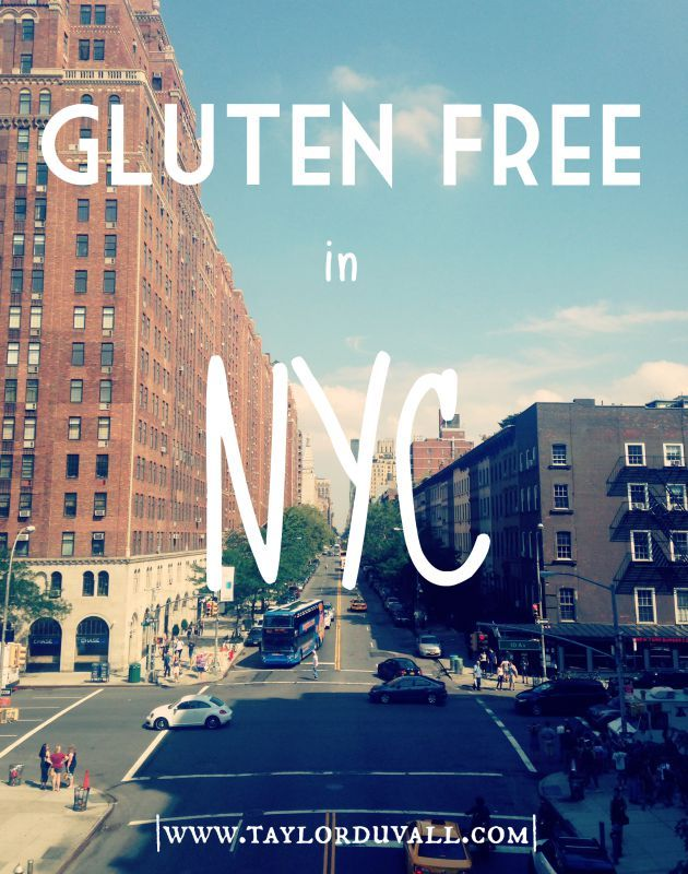 How to eat Gluten Free when you're in New York City.  Hint: It's pretty simple! #glutenfree #celiac #nyc #newyork