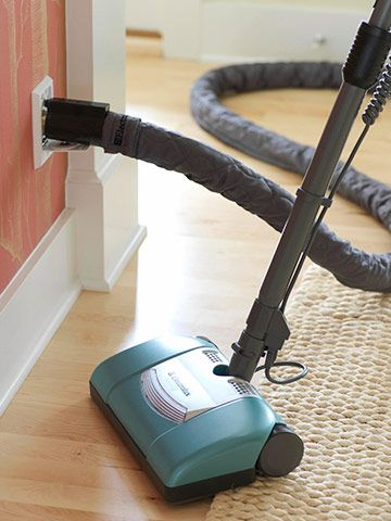 Of course my dream home has to have a central vacuum system.  So efficient and much more green then a regular vacuum.