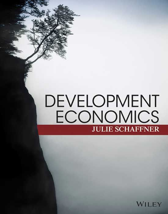 Development Economics: Theory, Empirical Research, and Policy Analysis. Author: Julie Schaffner. ISBN: 9780470599396. This resource is designed to teach development and policy in a way that is disciplined by economic theory and informed by empirical research. Development Economics will help you to define development objectives, understand the development process and identify potential barriers to development. Purchase now on Wiley Direct from $60.