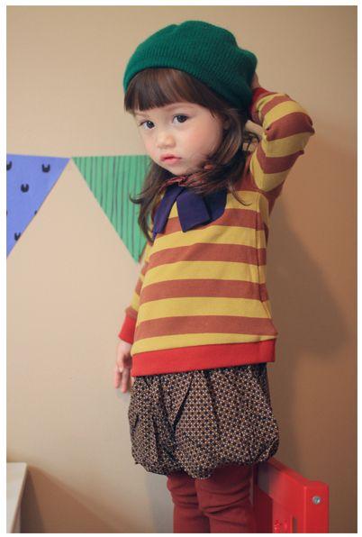 シュエヌT(イエローグリーン) : かわいい!絵本みたいな子供服!ANNIKA アニカ 2012秋冬COLLECTION 韓国 - NAVER まとめ