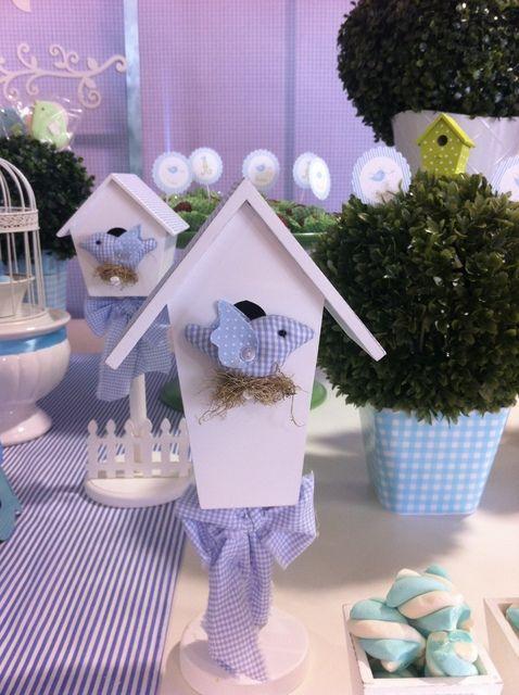 "Photo 1 of 13: Blue Birds / Birthday ""Blue Birds at Green Garden"" | Catch My Party"