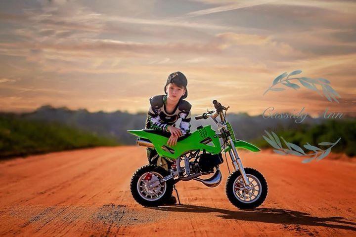 Photography Motocross Dirt Bike Boys Toddler 6 Yrs Old Photo Shoot
