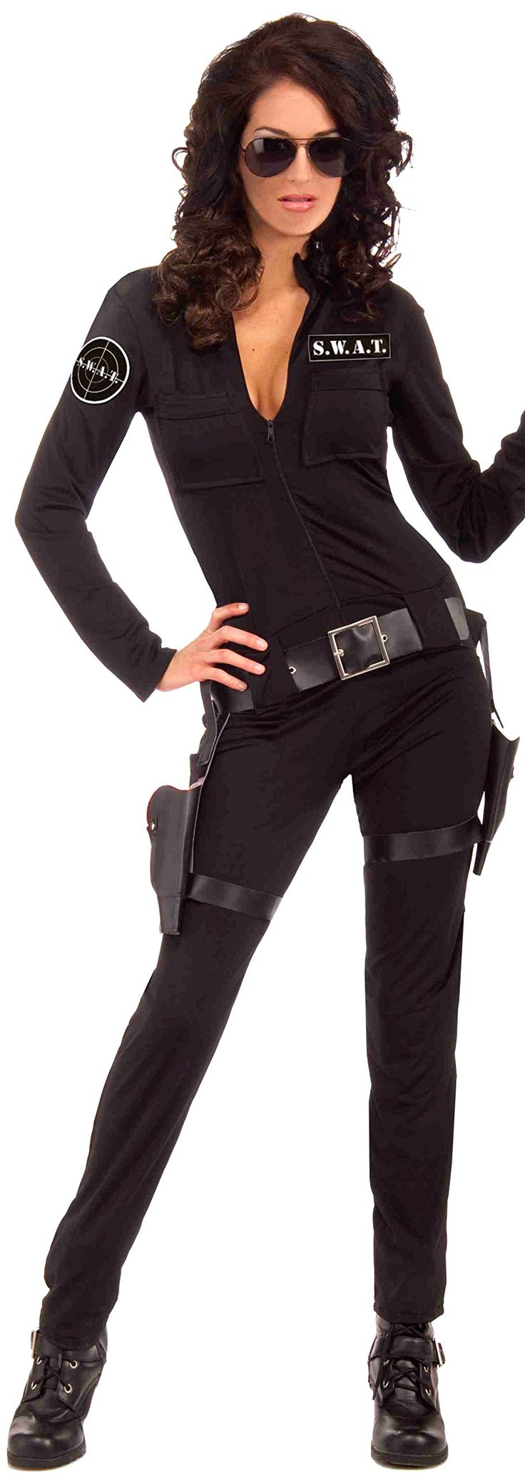 Forum Novelties Womens Swat Sexy Woman Of Action Costume -9730