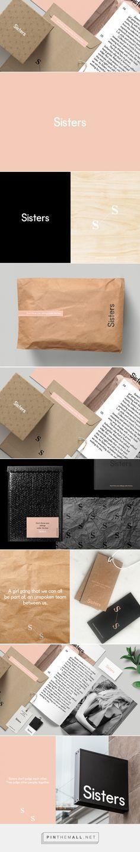 Packaging and branding for Sisters founded by Senem Mursaloğlu via Mindsparkle Mag. PD