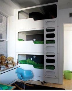 23 Best Built In Bunk Beds Images On Pinterest Built In