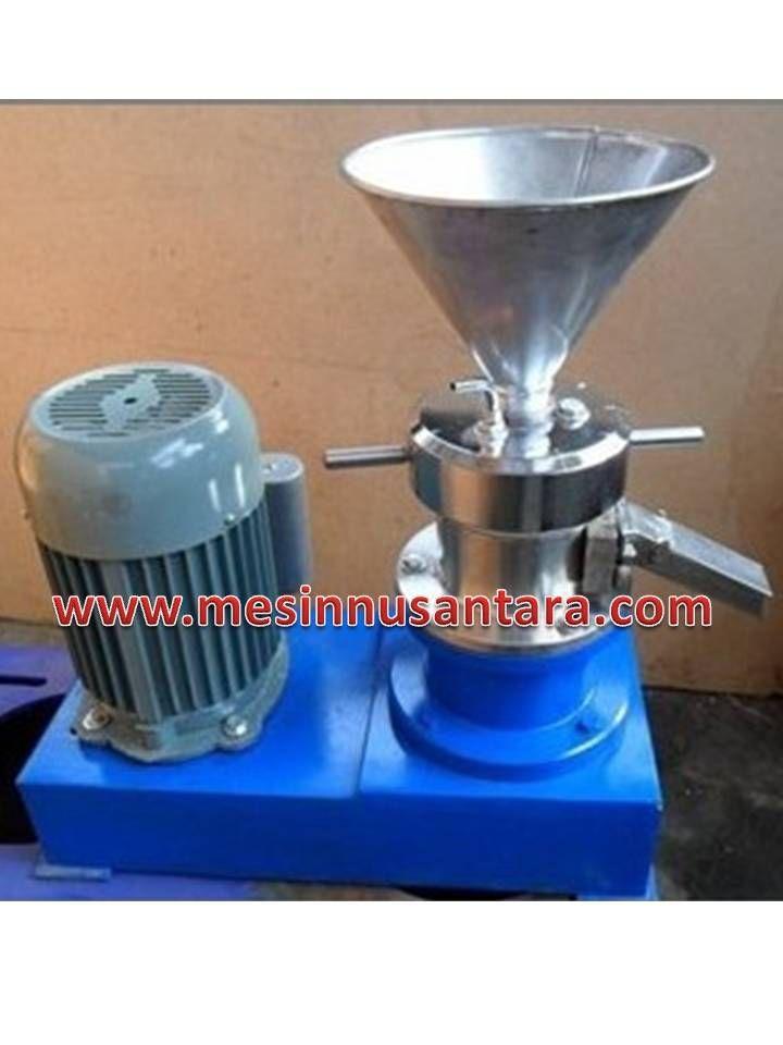 Mesin Colloid Mill adalah mesin yang digunakan untuk menggiling basah hingga kehalusan 20 – 40 micron atau berupa pasta. Spesifikasi :  Colloid Mill JM – 80      Dimensi          : 52 x 40 x 90 cm     Kapasitas        : 100 – 200 Kg/ jam     Power             : 5500 W     Daya               : 380 V     Berat               : 100 Kg