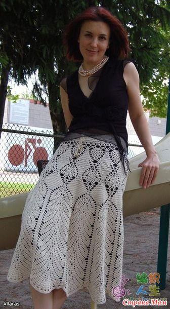Tejer una falda de Victoria Secret - tejer juntos en línea - casa las mamás