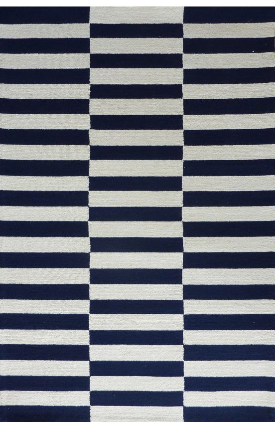 Navy Striped Rug Similar To Ikeas Black And White And Madeline