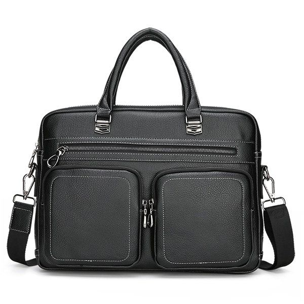 Men 14 Inches Laptop Bag Shoulder Bag Handbag Crossbody Bag