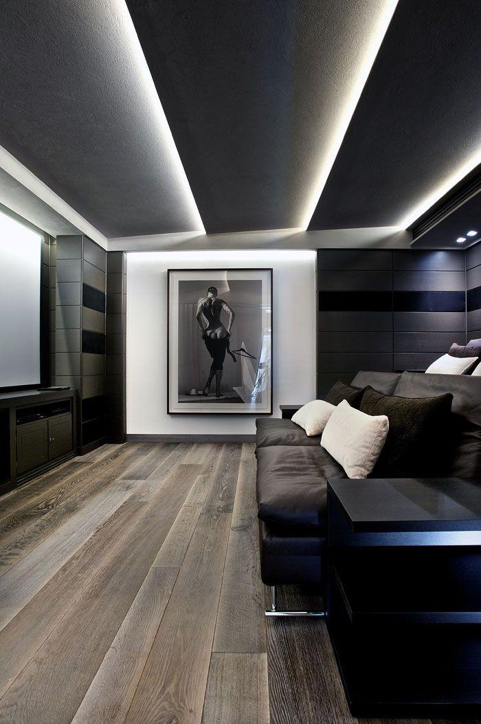 Espectacular idea iluminación techo