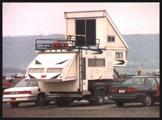 캠핑 트레일러 (Travel Trailer)의 종류 : <4> 트럭 캠퍼 (소형) : 네이버 블로그