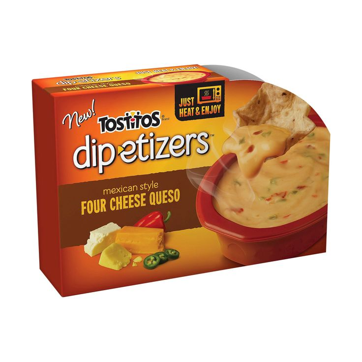 Tostitos Dip-etizers Four Cheese Queso- 10 oz