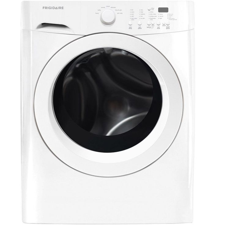 "Frigidaire FFFW5000QW 27"" Front Load Washer in White"