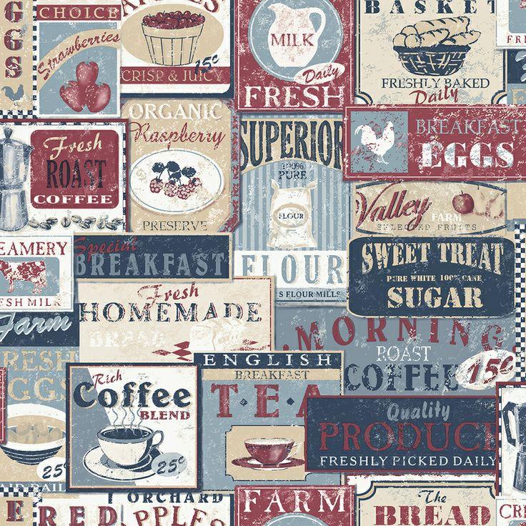 Kitchen Lables - Wallpaper Inn Store