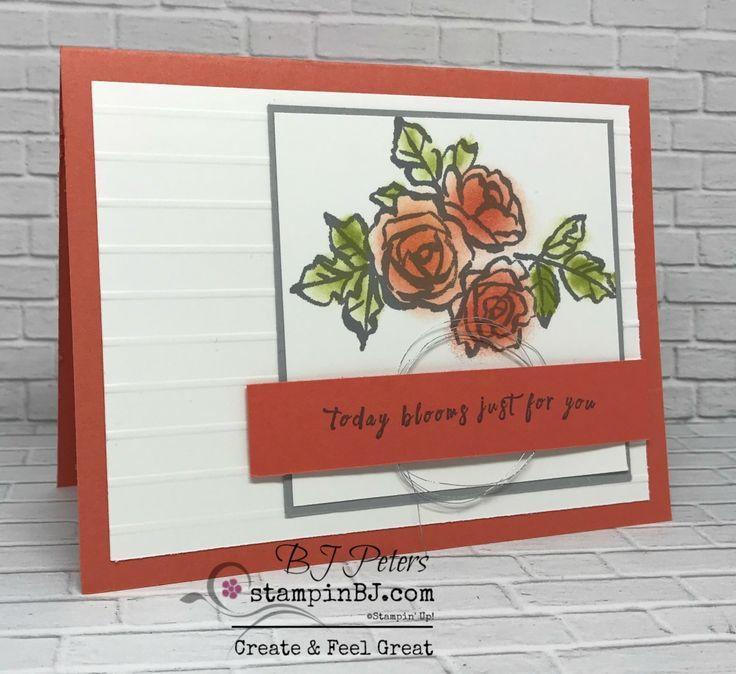 Petal Palette, perennial Birthday, Stampin' Up!, #stampinBJ.com