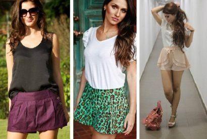 como-usar-shorts-saia