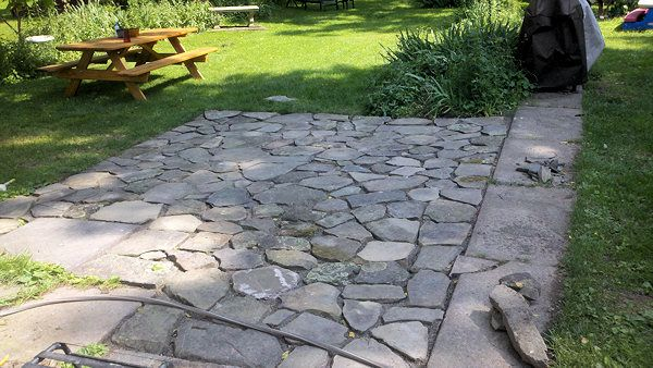 16 Best Images About Flagstone Patio On Pinterest Fire