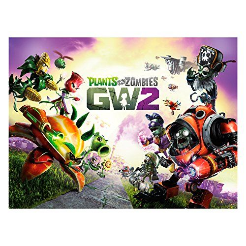 Plants vs Zombies Garden Warfare 2 Wall Decal GW2 Plants  Zombies Graphic 24 in x 18 in *** Want to know more, click on the image.