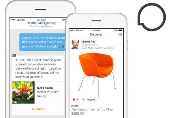 Operator App: comprar produtos sem sair da janela de chat.