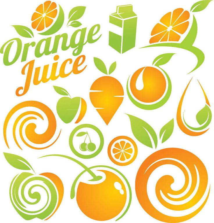 Orange Fruit Vector 76 best images ...