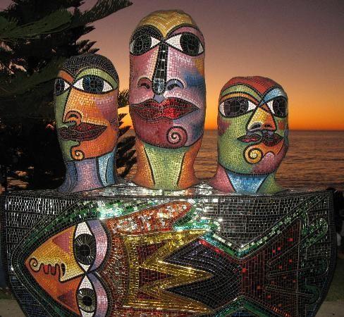 Sculpture at Cottesloe beach. #Perth #Australia