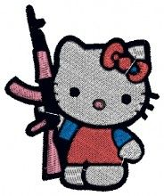 Bad Kitty embroidery design - Machine Embroidery Designs