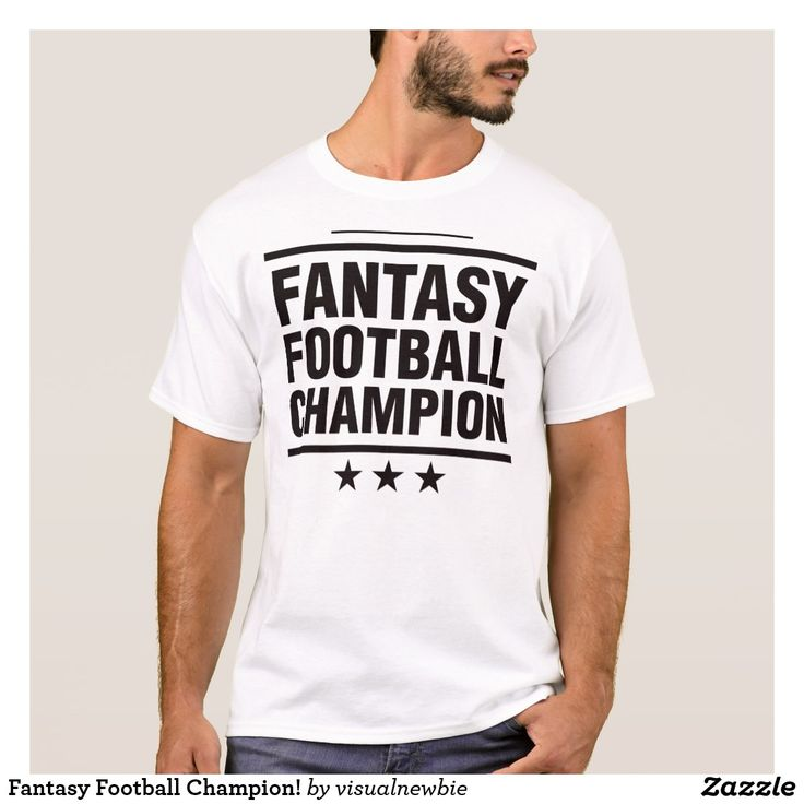 Fantasy Football Champion! T-Shirt