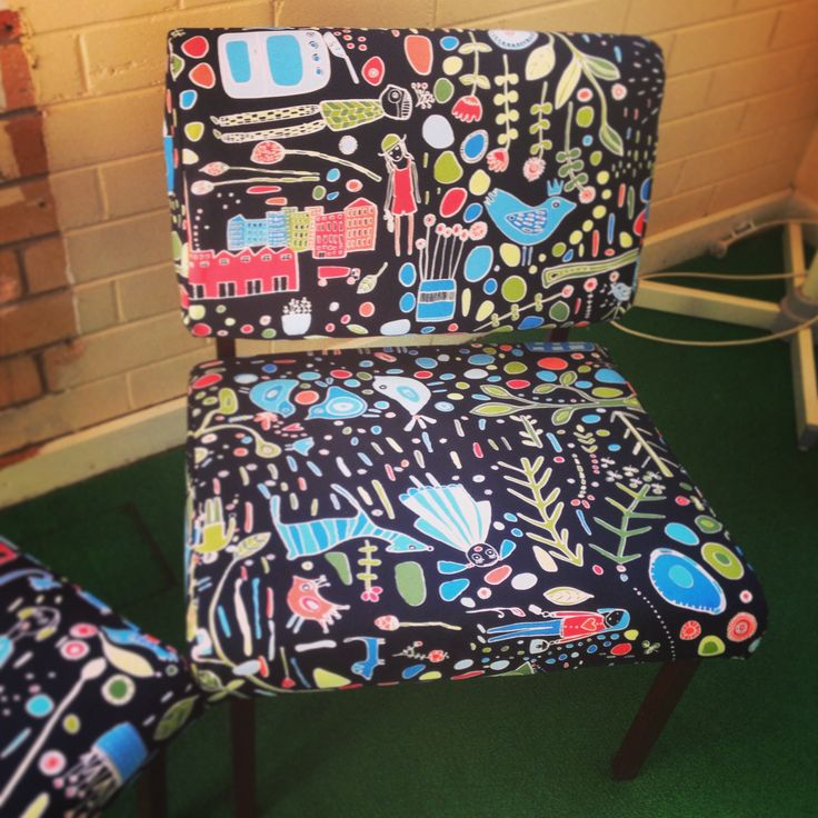 Upholstered chair #mikaalpacaanddesign #findusonfacebook
