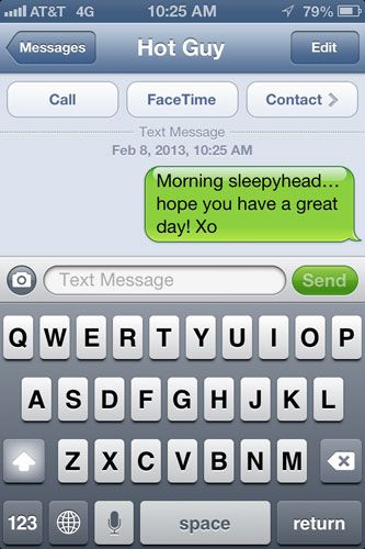 14 ridiculously cute flirty text message ideas!