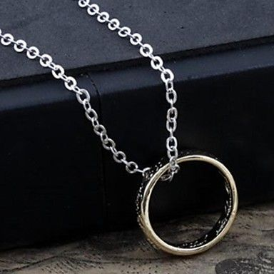 Fashion And Personality Lord Of The Rings Pendant Necklace(buy 1 get 1 gift) – USD $ 7.99