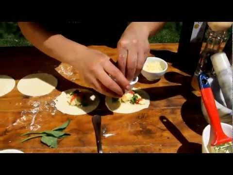 Empanadas matched with Fuzion Alta Torrontes Pinot Grigio
