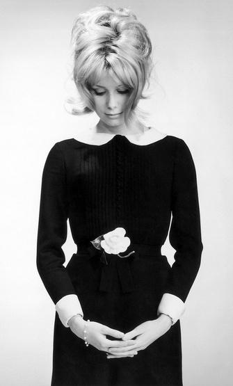 Catherine Deneuve in Paris, 1961