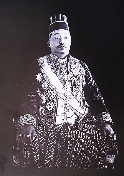 Paku Buwono Senopati ing Ngalogo Ngabdul Rahman Sayidin Panotogomo the Tenth --- Susuhunan of Surakarta.